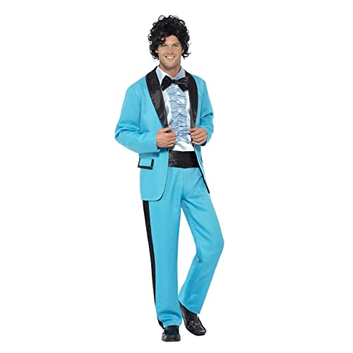 08c4602d1b39b Smiffy's Men's 80's Prom King Costume
