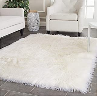 Best square fluffy rug Reviews