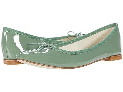 Repetto Cendrillon (Jade Green Patent) Women