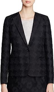 Women's Marica Jacquard One Button Blazer