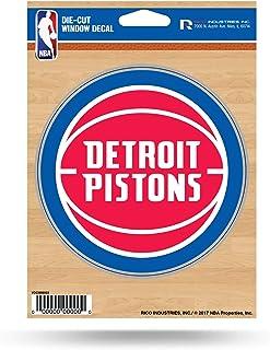 ملصق من الفينيل مطبوع عليه Detroit Pistons من NBA