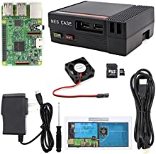 The perseids Raspberry Pi 3 Model B (3B Plus) Ultimate Starter Kit with NES Case, Cooling Fan, 32 GB Micro SD Card Edition (Complete Raspberry Pi Kit)