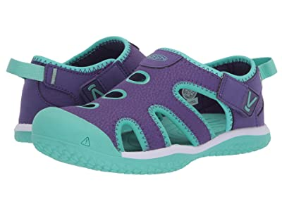 Keen Kids Stingray (Little Kid/Big Kid) (Royal Purple/Cockatoo) Girl
