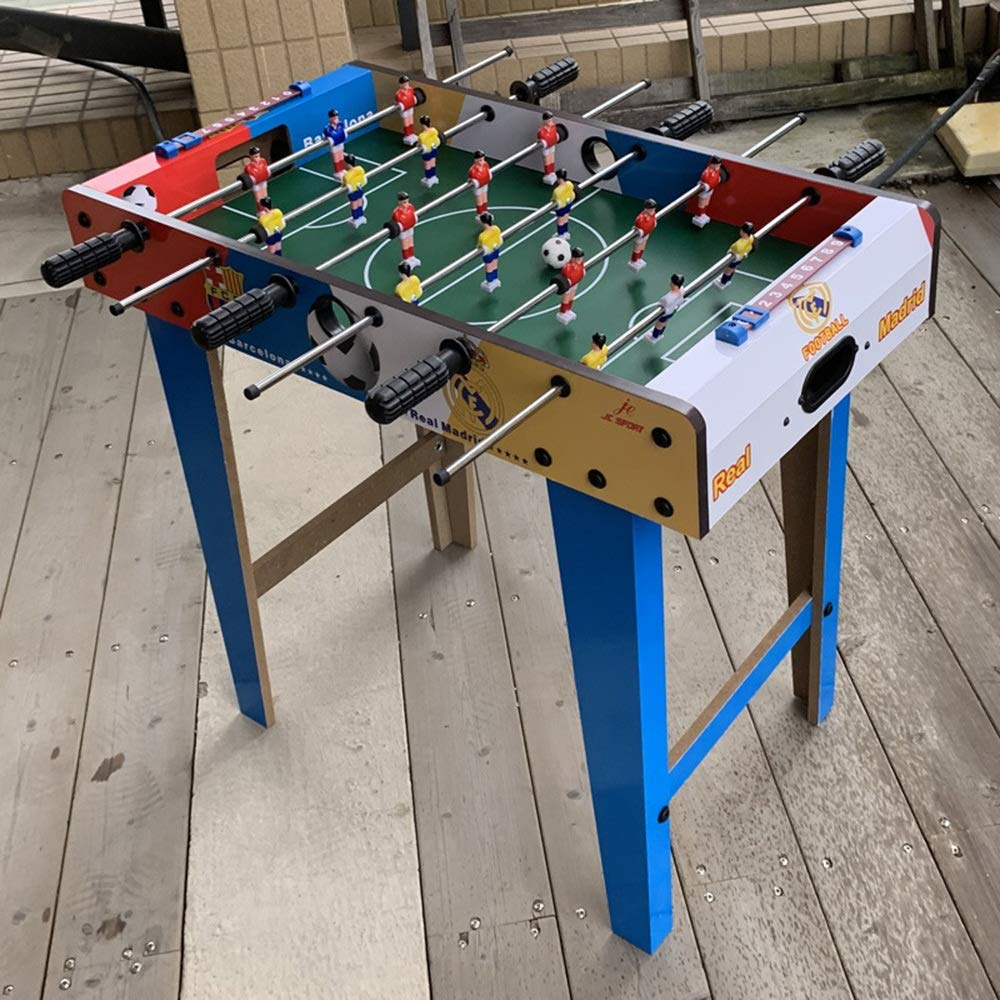 Futbolín Adultos y niños - Familia de fútbol de la competencia del juego de futbolín fútbol de la tabla del juego de futbolín de mesa Para los adultos, niños - Fútbol Mano