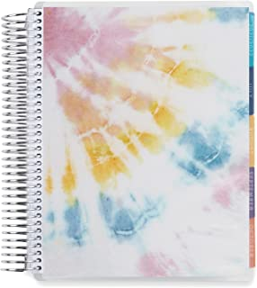 """$34 » 7"""" x 9"""" Coiled Monthly Planner (September 2021 - August 2022) - Sunlight Tie Dye. 12 Month Dated Calendar w/Lined Pages an..."""