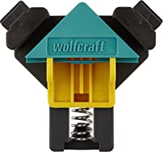 wolfcraft ES 22 Eckenspanner 3051000 Set – 2 Winkelspanner zur Fixierung von Brettern und Rahmen im 90° Winkel – Eckspanne...