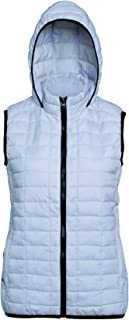 2786 Womens/Ladies Honeycomb Zip Up Hooded Gilet/Bodywarmer