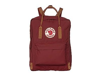 Fjallraven Kanken (Ox Red/Goose Eye) Backpack Bags