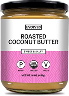 Sponsored Ad - Evolved Chocolate - Organic Roasted Coconut Butter, Sweet and Salty, Dairy Free, Soy Free, Paleo Friendly, ...