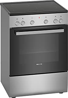 Siemens iQ300, free-standing electric cooker, Stainless steel HK6L00070M