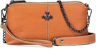 imeetu Crossbody Bag Leather Clutch Handbag