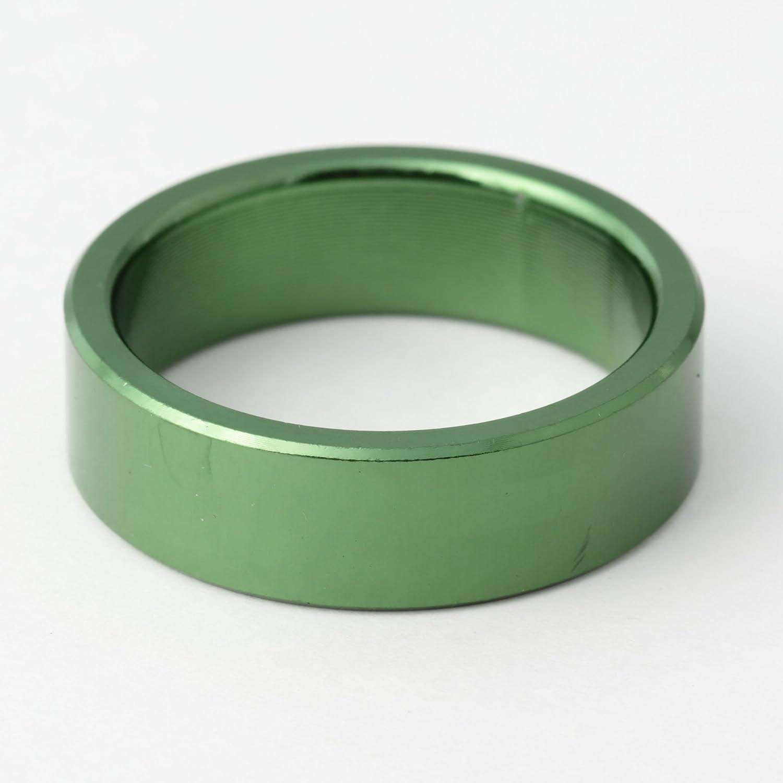 DIA COMPE(ダイア コンペ) ヘッドコラム アルミニウムスペーサー 1-1/8 (φ28.6) 10mm グリーン