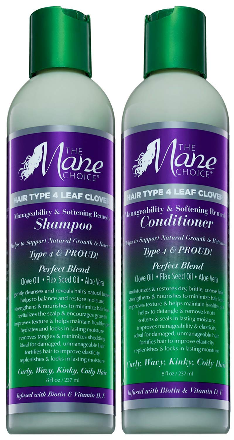 THE MANE CHOICE - Hair Type Softe Cheap SALE Start Clover: Deluxe Manageability Leaf 4