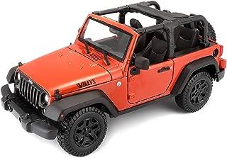 Maisto 2014 Jeep Wrangler No Top Diecast Vehicle (1:18 Scale)