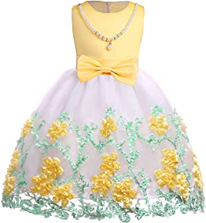 a1c52af84 Amazon.ca  Yellow - Dresses   Girls  Clothing   Accessories