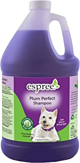 Espree Plum Perfect Shampoo for Dogs | Enhanced with Natural and Organic Aloe Vera | Forumated for Deep Cleaning