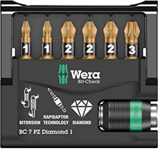 Wera 05073534001 Screwdriver Nut Driver Bits