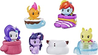 My Little Pony Toy Cutie Mark Crew Series 4 Surprise Pack: Snow Day Collectible 5 Pack with 2 Mystery Figures, Kids Ages 4 & Up