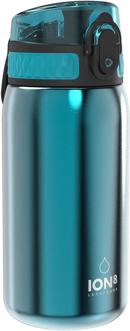 Ion8 borraccia acciaio inox bambini senza perdite, 400 ml B089GZR54Q