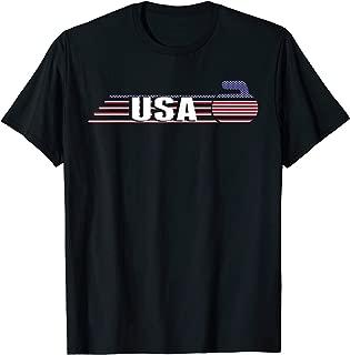 USA Curling T Shirt 2019 Winter Sports Games Shirt Men Women