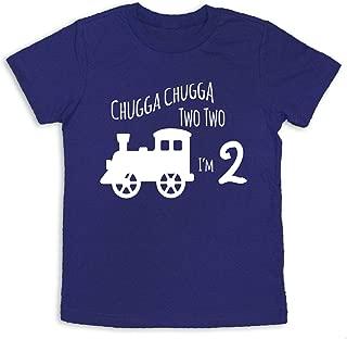 2nd Birthday Shirt Train 2nd Birthday Shirt Two Years Old