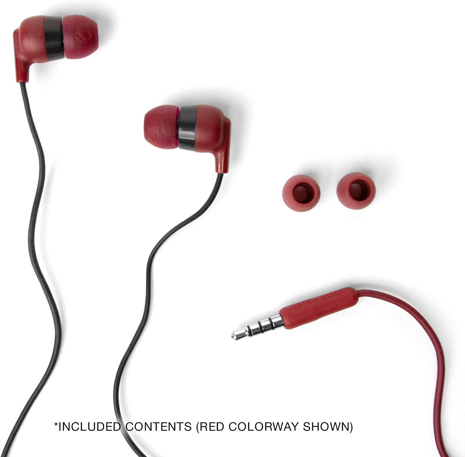 Skullcandy Ink'd+ Wired Earphones with Microphone, Moab Lavender