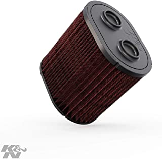 K&N engine air filter, washable and reusable:  2017-2019 Ford Truck Super Duty V8 (F250, F350, F450, F550) E-0644