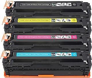 لخرطوشة حبر اتش بي 128a Ce320a Ce321a Ce322a Ce323a متوافقة استبدال خرطوشة الحبر ل Hp Color Laserjet Cm1312 Cm1312nfi Cp12...
