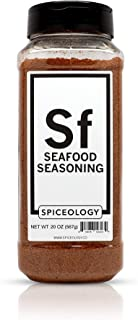 Seafood Seasoning Blend - Spiceology All-Purpose Grilling Spice Rub - 20 ounces