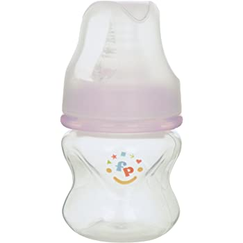 Fisher-Price Ultra Care Regular Neck Feeding Bottle, Pink, 60ml