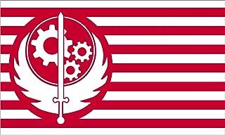 Fallout Flag | Brotherhood of Steel | 3x5 ft / 90x150 cm | Long Lasting Flag