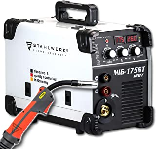 STAHLWERK MIG 175 ST IGBT Equipo de soldadura de gas de