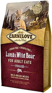 Carnilove vuxna katter steriliserade lamm 400 g