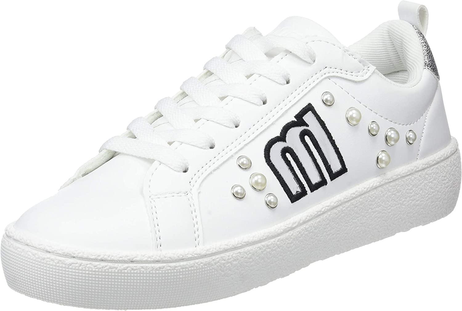 MTNG Women's 69360 Low-Top Sneakers White