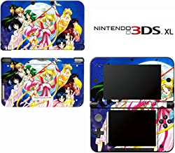 Sailor Moon Decorative Video Game Decal Cover Skin Protector for Nintendo 3DS XL