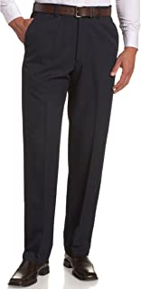 Haggar Men's Cool 18 Hidden Expandable-Waist Plain-Front...