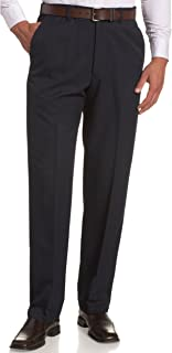 Men's Cool 18 Hidden Expandable-Waist Plain-Front Pant