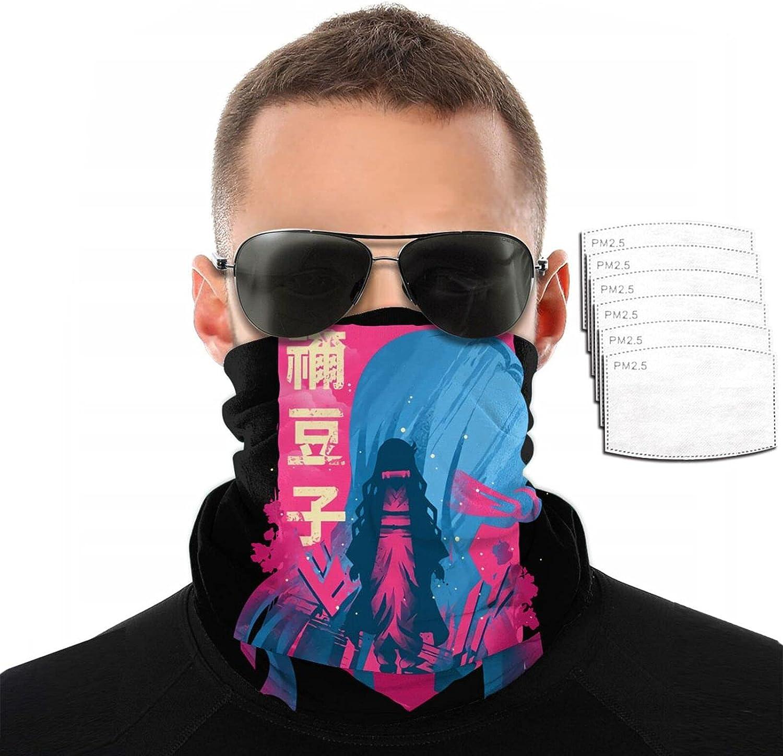 Store Anime Demon Slayer Nezuko Variety Face 3D Printing Scarf F Towel Ranking TOP5