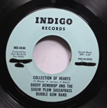daddy dewdrop and the sugar plum sassafrass bubble gum band 45 RPM collection of hearts / indigo