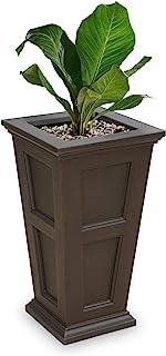 Mayne 5829-ES Polyethylene Planter, Espresso