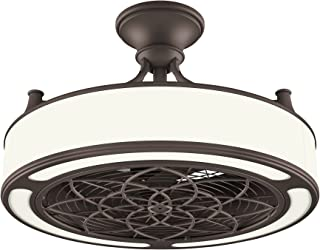 Stile Anderson 22 Inch LED Bronze Ceiling Fan with Remote Control