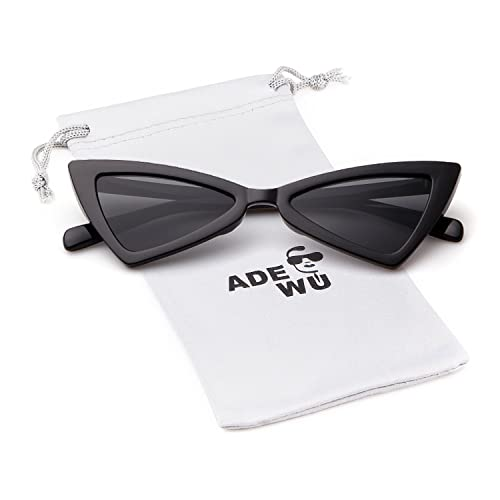 ac64eb8ff501 Cat eye Sunglasses for Women Men High Pointed Triangle Glasses