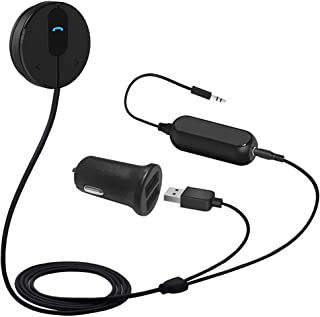 BESIGN BK01 Bluetooth Car Kit, Wireless Receiver for Handsfree Talking and Music Streaming with Ground Loop Noise Isolator...