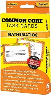 Edupress Common Core Task Cards, Math, Grade 2 (EP63345)