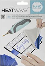 We R Memory Keepers 0633356626589 Heatwave Power Tool-Blue-Foil (30 Piece), 4 x 6