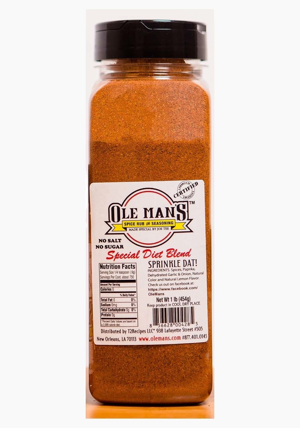 Award Winning -Ole Rub Man's Ranking In stock integrated 1st place Spice