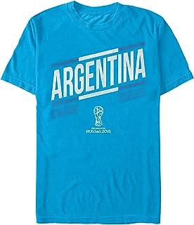 FIFA World Cup Russia 2018 Men's Argentina Stripes T-Shirt