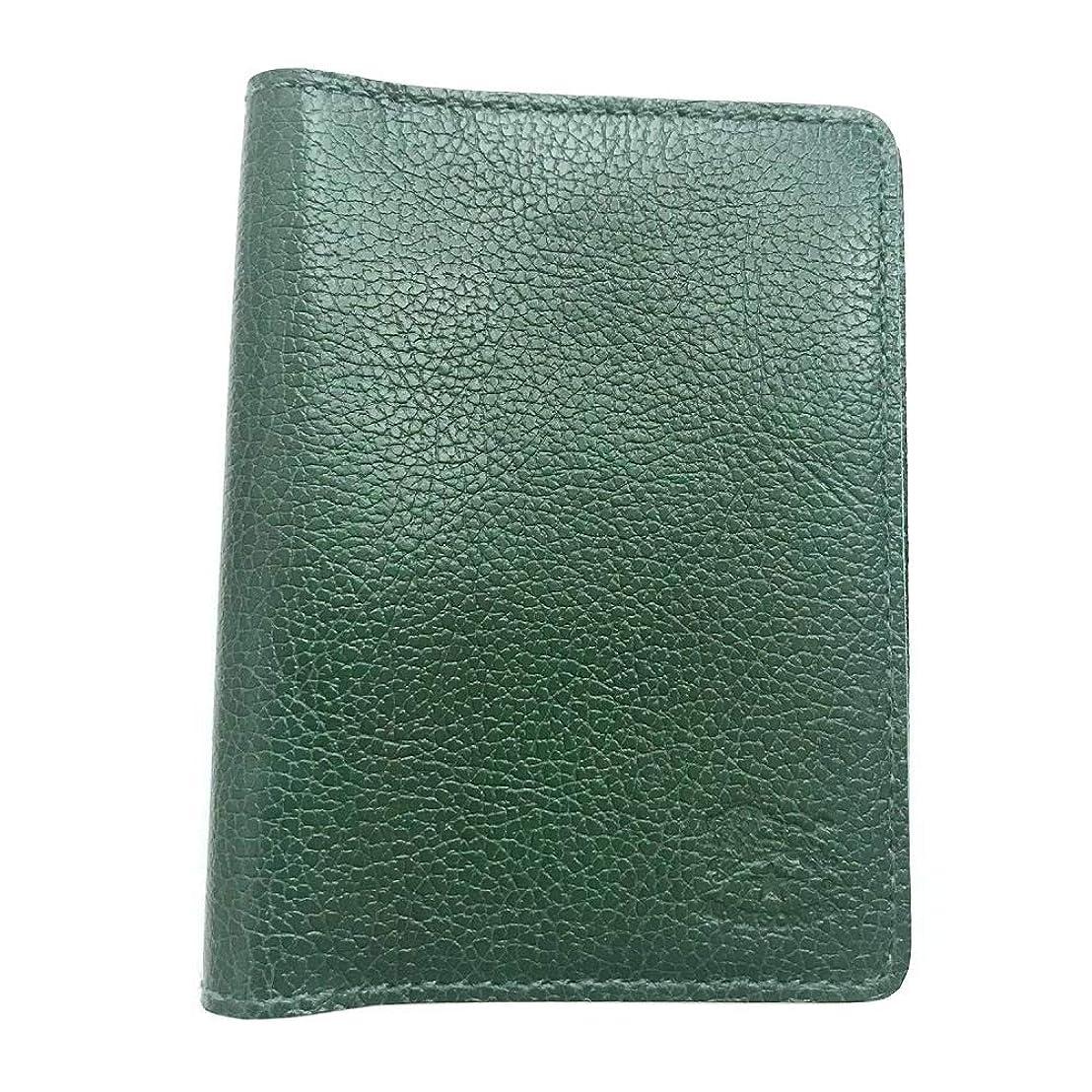 効率後者クロールイルビゾンテ IL BISONTE C0469/M 293 Green カードケース パスケース 定期入れ【レディース】 [並行輸入品]
