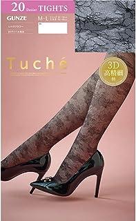 (グンゼ) GUNZE (トゥシェ) Tuche 3D高精細 レトロフラワー ストッキング 20デニール相当