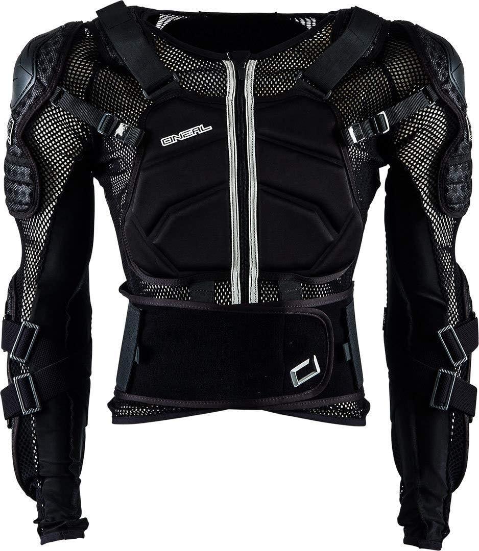 O Neal Underdog Protector Jacket Protektorenjacke Schwarz Oneal Sport Freizeit
